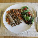 フレンチパパの家庭料理 レンズ豆とソーセージの煮込み